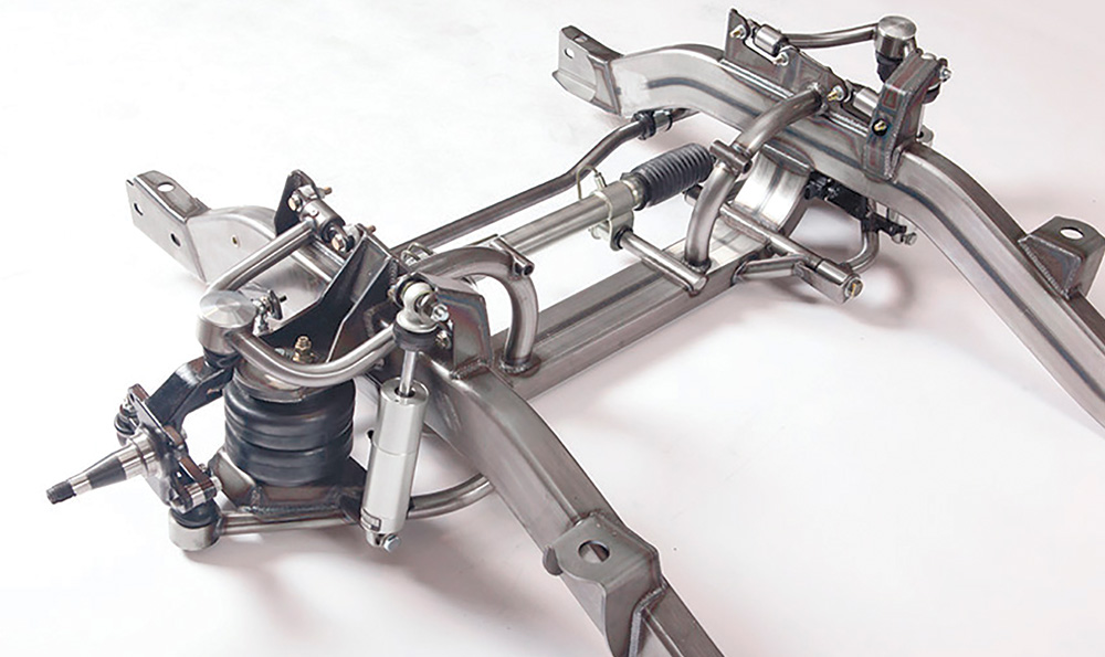 Second look at the The Air Spring suspension was CAD engineered