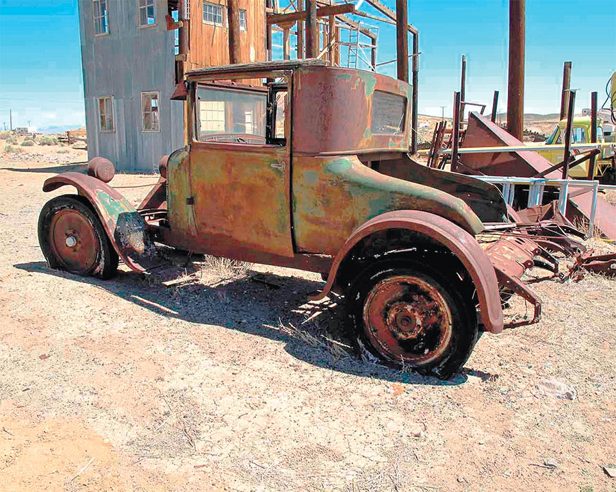 1926-1927 Dodge club coupe ready for hot rod build