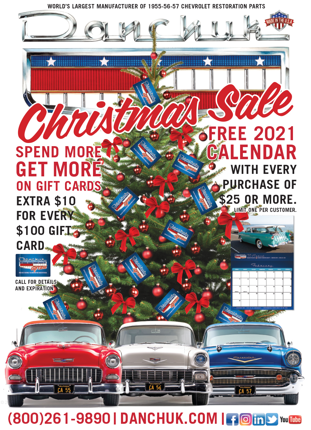 Danchuk Christmas Sale Advertisement