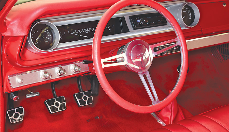 Steering on a 1965 Chevy Bel Air