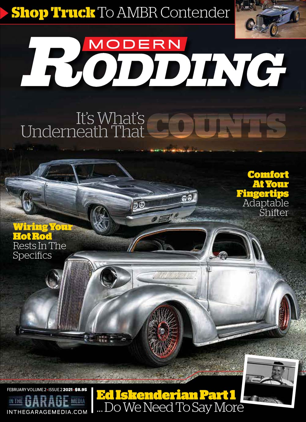 Modern Rodding February 2021 cover